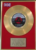 "EVERLY BROTHERS -  7"" Gold Disc -TAKE A MESSAGE TO MARY"